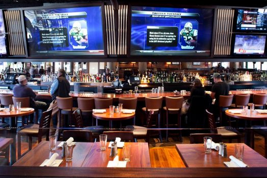 Should bars have TVs?
